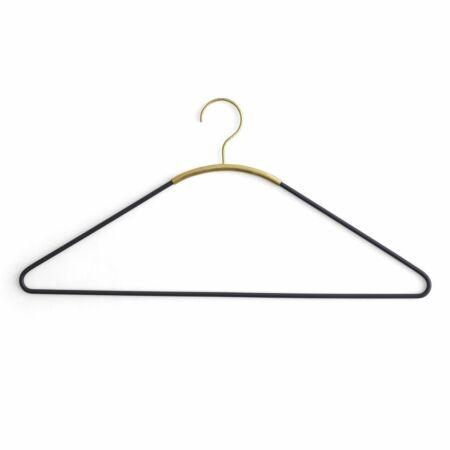 Ava kledinghangers Menu zwart