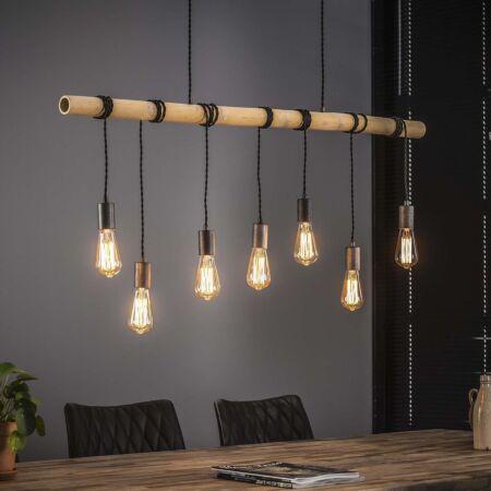 Bamboe hanglamp Kay - 7L