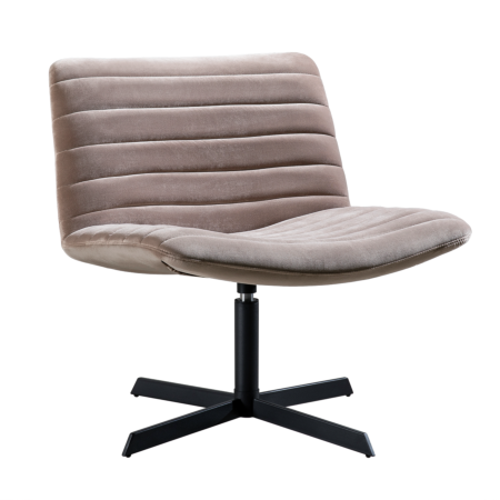 Beau fauteuil Kick Collection champagne