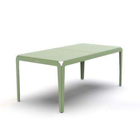 Bended tuintafel Weltevree 180cm - groen