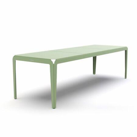 Bended tuintafel Weltevree 270cm - groen