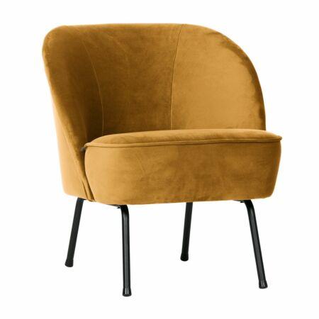 Vogue fauteuil BePureHome geel
