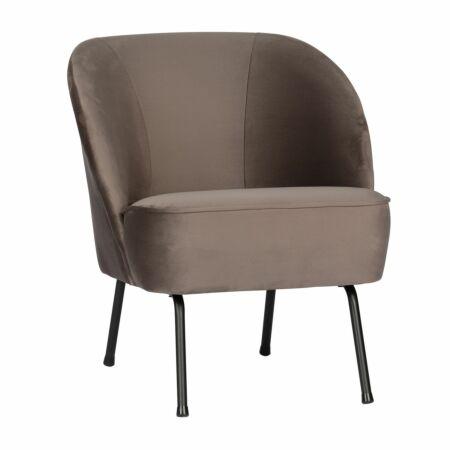Vogue fauteuil BePureHome nougat