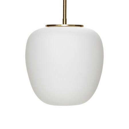Blaze hanglamp Hübsch Ø30 opaal