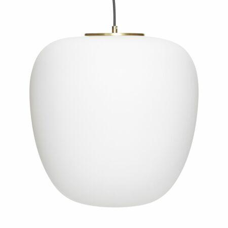 Blaze hanglamp Hübsch Ø40 opaal