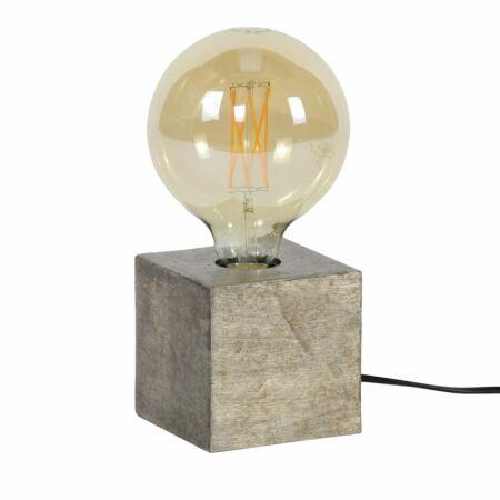 Block tafellamp Kay antiek nikkel