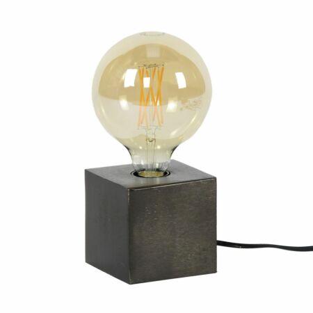 Block tafellamp Kay zwart