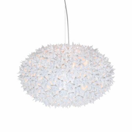 Bloom hanglamp Kartell Ø53 wit