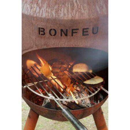 BonSolo tuinhaard BonFeu - cortenstaal