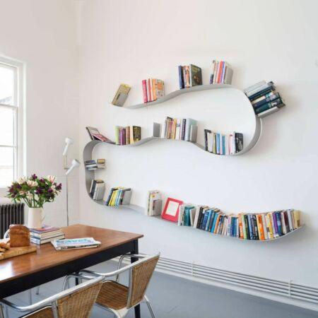 Bookworm boekenplank Kartell 11 wit