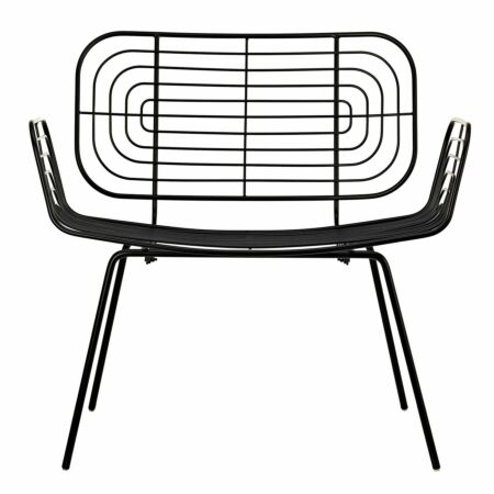 Boston fauteuil Pols Potten zwart