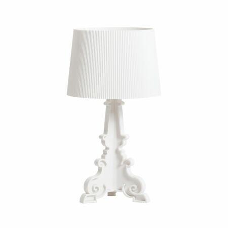 Bourgie tafellamp Kartell mat wit