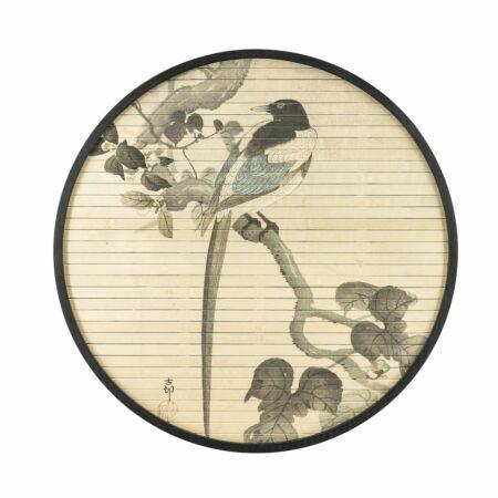 Morita Bird wanddecoratie By-Boo