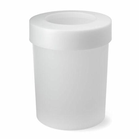 Cap prullenbak Depot4Design wit