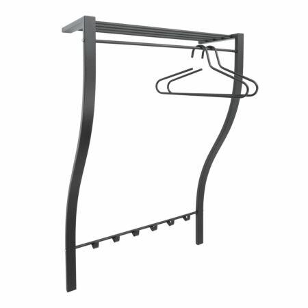 Carve 1 wandkapstok Spinder Design zwart