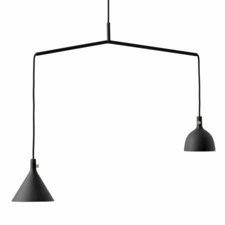 OP = OP - Shape 4 Cast hanglamp Menu zwart