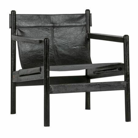 Chill fauteuil BePureHome zwart