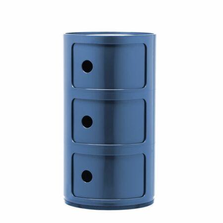 Componibili kast Kartell 3-deurs - blauw
