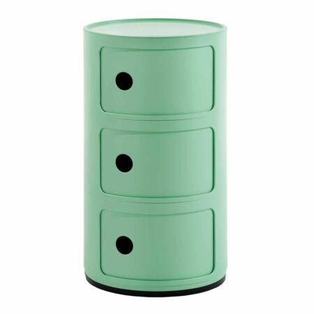 Componibili Bio kast Kartell 3-deurs - groen