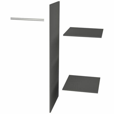 Interieurpakket voor Connect kast Woood met lade zwart