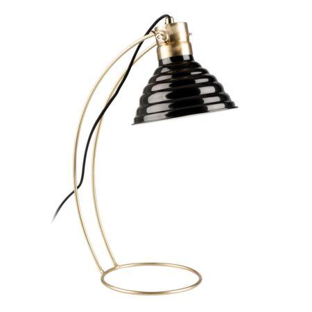 Curly tafellamp Luzo zwart - VERHUIS SALE