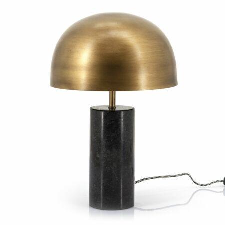 David tafellamp By-Boo zwart - messing
