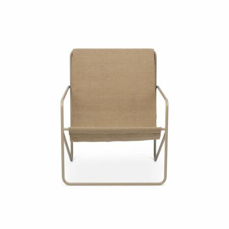 Desert loungestoel Ferm Living cashmere - Solid