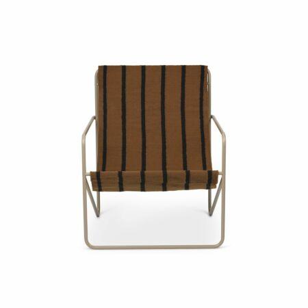 Desert loungestoel Ferm Living cashmere - Stripe