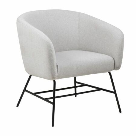Dierick fauteuil Liv lichtgrijs
