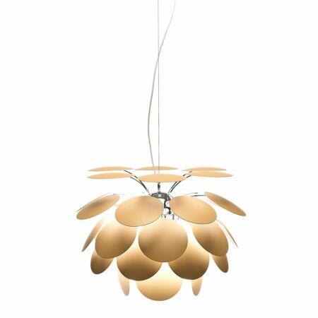 Discocó hanglamp Marset Ø35 - mat beige