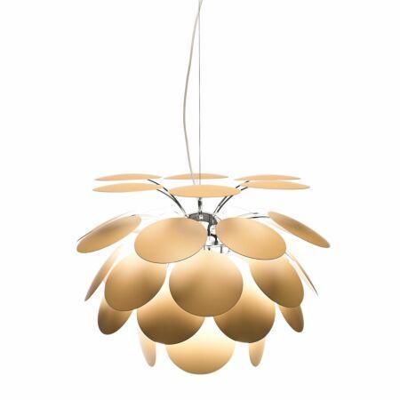 Discocó hanglamp Marset Ø53 - mat beige
