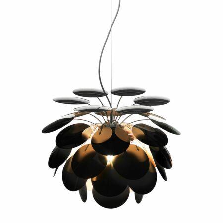 Discocó hanglamp Marset Ø68 - zwart - goud