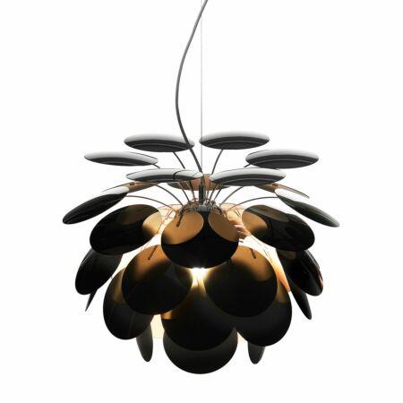 Discocó hanglamp Marset Ø88 - zwart - goud