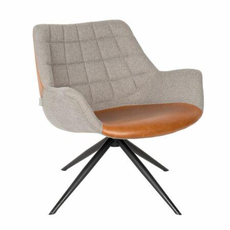 Doulton fauteuil Zuiver bruin