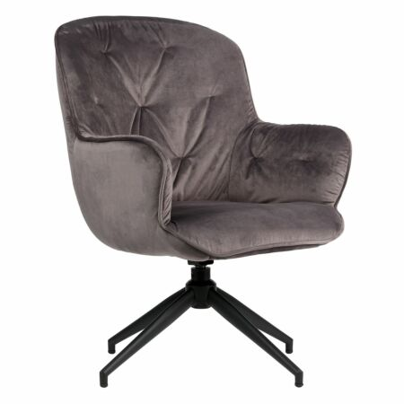 OUTLET - Elaine fauteuil Woood Exclusive - antraciet