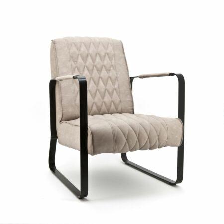 Caro fauteuil Eleonora zand