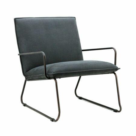 Delta fauteuil Eleonora antraciet