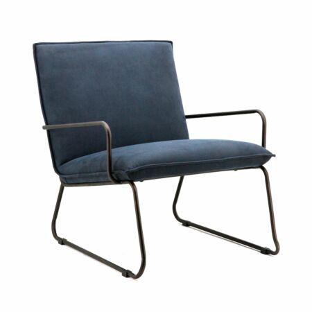 Delta fauteuil Eleonora blauw