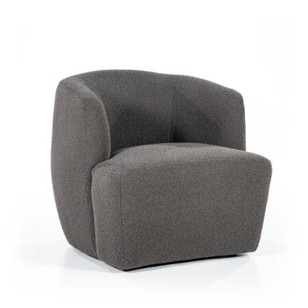 Charlotte fauteuil Eleonora - antraciet copenhagen