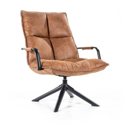 Mitchell fauteuil Eleonora - cognac