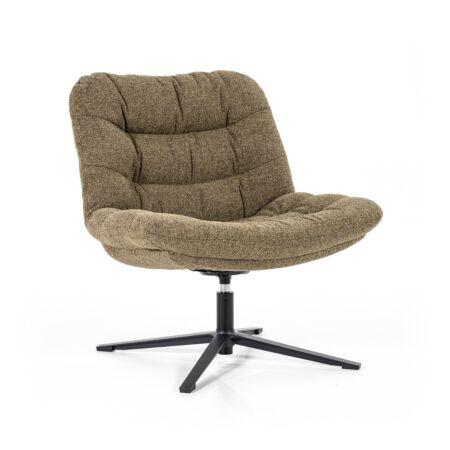 Danica fauteuil Eleonora - groen baquer