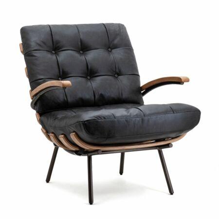 Bastiaan fauteuil Eleonora zwart