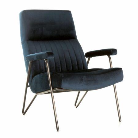 William fauteuil Eleonora blauw