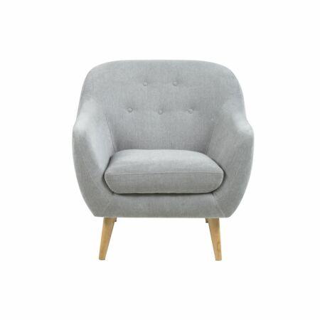 Eli fauteuil Liv grijs