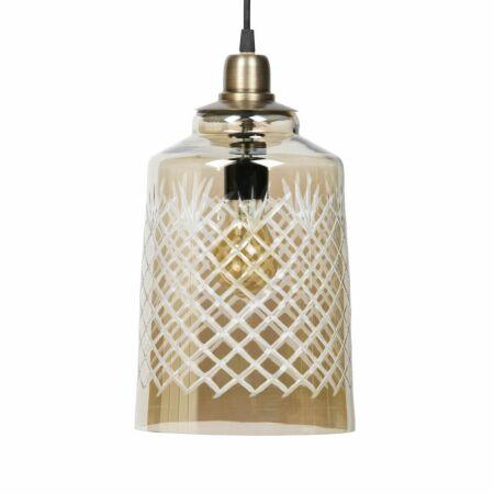 Engrave hanglamp BePureHome Ø19 antiek messing