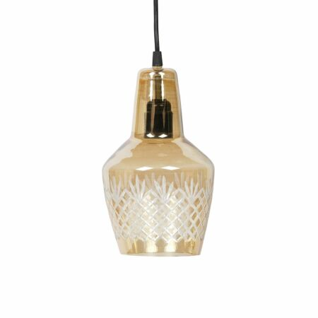 Engrave hanglamp BePureHome Ø15 antiek messing