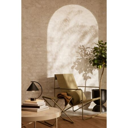 Desert loungestoel Ferm Living cashmere - Olive