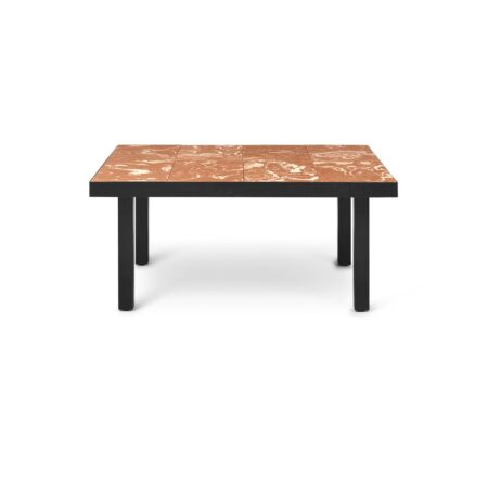 Flod salontafel Ferm Living - Terracotta