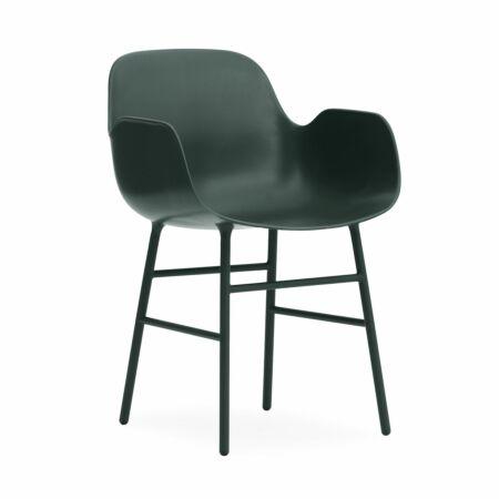 Form Armchair stoel Normann Copenhagen groen