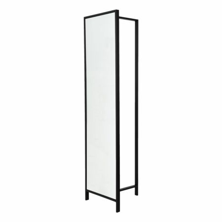 Frame DV47 garderoberek Van Esch zwart - spiegel